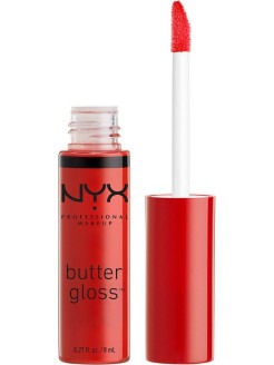 Увлажняющий блеск для губ BUTTER LIP GLOSS - CHERRY PIE 12 NYX PROFESSIONAL MAKEUP