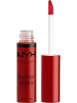 Увлажняющий блеск для губ BUTTER LIP GLOSS - RED VELVET 20 NYX PROFESSIONAL MAKEUP