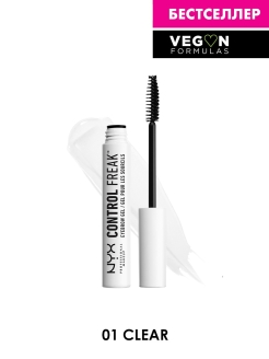 Гель для бровей CONTROL FREAK EYE BROW GEL - CLEAR 01 01 NYX PROFESSIONAL MAKEUP