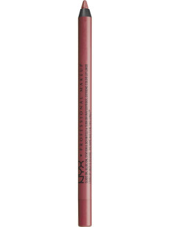 Стойкий карандаш для губ SLIDE ON LIP PENCIL - BEDROSE 02 NYX PROFESSIONAL MAKEUP