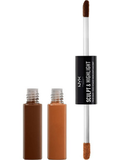 Контуринг SCULPT & HIGHLIGHT FACE DUO - ESPRESSO HONEY 06 NYX PROFESSIONAL MAKEUP