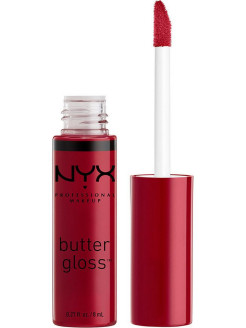 Увлажняющий блеск для губ BUTTER LIP GLOSS - CRANBERRY BISCOTTI 24 NYX PROFESSIONAL MAKEUP