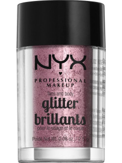 Глиттер для лица и тела FACE & BODY GLITTER - ROSE 02 NYX PROFESSIONAL MAKEUP