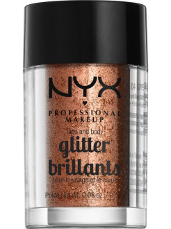 Глиттер для лица и тела FACE & BODY GLITTER - COPPER 04 NYX PROFESSIONAL MAKEUP
