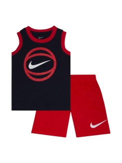 Костюм NKB GFX MUSCLE TEE SHORT SET Nike