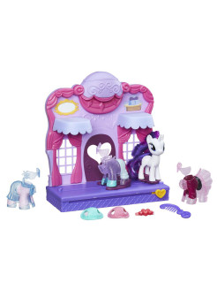 Mlp бутик рарити в кантерлоте My Little Pony