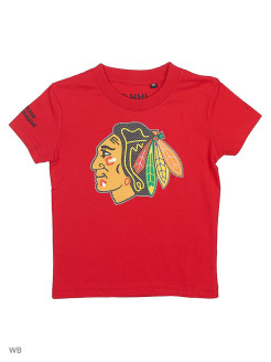 Футболка  NHL Blackhawks Atributika & Club