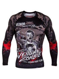 Рашгард Venum Zombie Return L/S - Black Venum