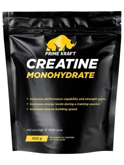Creatine Monohydrate 100% pure Prime Kraft