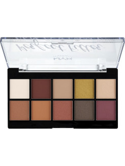 Палетка теней. PERFECT FILTER SHADOW PALETTE - RUSTIC ANTIQU 02 NYX PROFESSIONAL MAKEUP