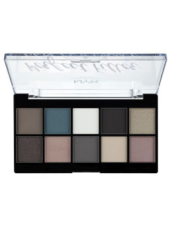 Палетка теней. PERFECT FILTER SHADOW PALETTE - GLOOMY DAYS 04 NYX PROFESSIONAL MAKEUP