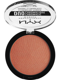 Сухой хайлайтер ДУО ХРОМАТИК DUO CHROMATIC ILLUMINATING POWDER - SYNTHETICA 05 NYX PROFESSIONAL MAKEUP