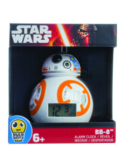 Часы настольные BulbBotz Star Wars минифигура Дроид BB-8 Star Wars