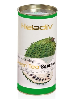 Чай HELADIV HD Round P.T. green tea soursop 100 gr зеленый Heladiv
