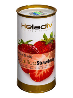 Чай HELADIV HD Round P.T. strawberry 100 gr черный Heladiv