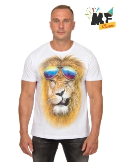 Lion T-shirt with glasses MF