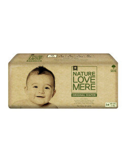 Подгузники original Basic Diaper NB (2-4кг) 54шт. Nature Love Mere