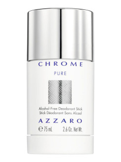 Дезодорант-стик без спирта Chrome Pure, муж,  75 мл Azzaro