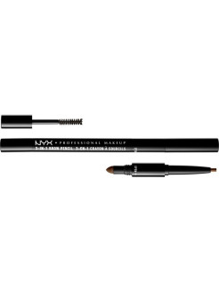 Карандаш для бровей 3 в 1 3 IN 1 BROW PENCIL - SOFT BROWN 3103 NYX PROFESSIONAL MAKEUP