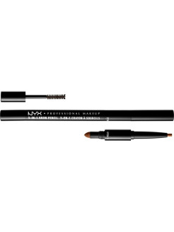 Карандаш для бровей 3 в 1 3 IN 1 BROW PENCIL - AUBURN 3105 NYX PROFESSIONAL MAKEUP