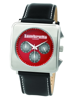 Часы Lambretta Cassola leather chrono red Lambretta