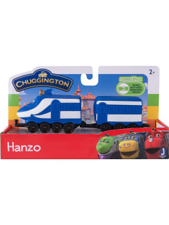 Набор Паровозик с вагончиком Ханзо Chuggington
