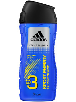 Гель для душа Sport energy Shower Gel Male 250мл adidas