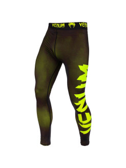 Тайтсы Venum Giant Black/Yellow Venum