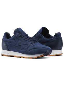 Кроссовки CL LEATHER SG       COLLEGIATE NAVY/CHAL Reebok