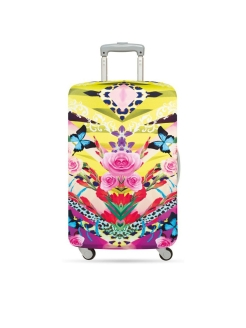 Чехол для чемодана LOQI LUGGAGE COVER M - SHINPEI NAITO Flower Dream LOQI
