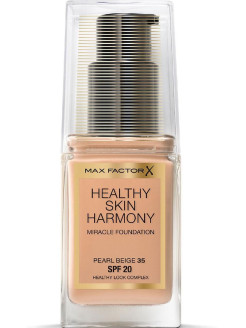 Healthy Skin Harmony, тональная основа, Miracle Foundation, 35 Pearl Beige, 30 мл MAX FACTOR