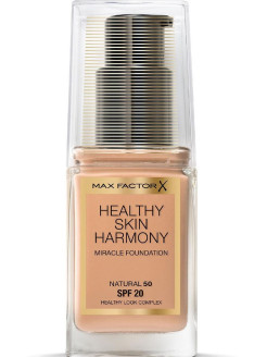Healthy Skin Harmony тональная основа, Miracle Foundation, 50 Natural, 30 мл MAX FACTOR
