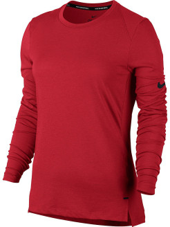Лонгслив W NK BRTHE TOP LS ELITE Nike