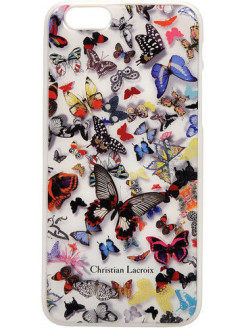 Чехол Lacroix для iPhone 6/6S Butterfly Hard White Christian Lacroix