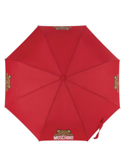 Зонт складной Moschino 8194-OCC Hidden Teddy Red MOSCHINO
