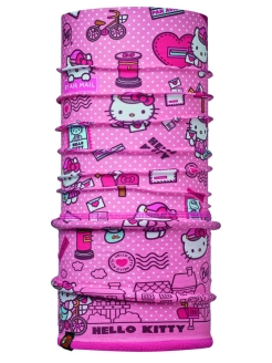 Бандана HELLO KITTY CHILD POLAR MAILING ROSE / DRAGON FRUIT Buff