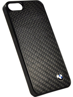 Чехол BMW для iPhone 5S/SE Signature Hard Real Carbon BMW