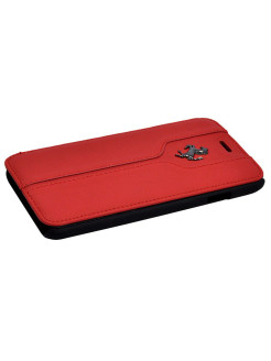 Чехол Ferrari для iPhone 6/6S Montecarlo Booktype Red FERRARI