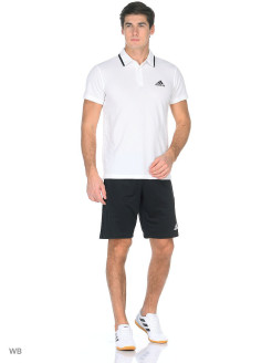 Футболка-поло ADVANTAGE POLO WHITE/BLACK Adidas