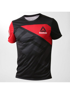 Рашгард UFC FK RUS JERSEY BLACK/EXCRED Reebok
