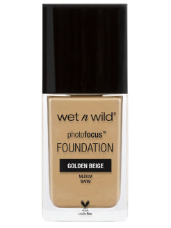 Тональная основа Photo Focus Foundation E368c тон golden beige Wet n Wild