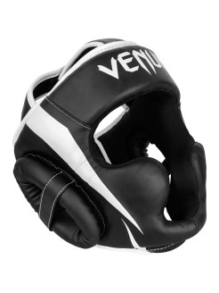 Шлем боксерский Venum Elite Black/White Venum