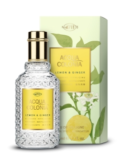 Vitalizing - Lemon & Ginger Одеколон 50мл 4711 ACQUA COLONIA