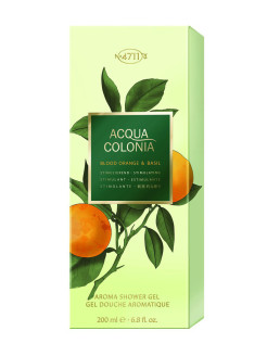 Stimulating - Blood Orange & Basil Гель для душа, 200мл 4711 ACQUA COLONIA