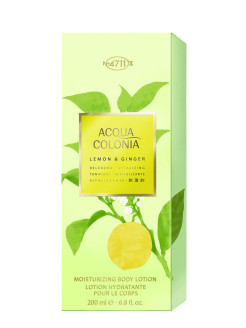 Vitalizing - Lemon & Ginger Лосьон для тела, 200мл 4711 ACQUA COLONIA