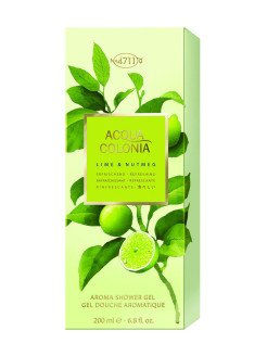 Refreshing - Lime & Nutmeg Гель для душа, 200мл 4711 ACQUA COLONIA