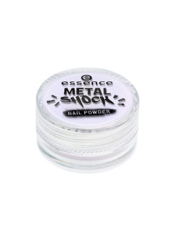 Пудра для ногтей METAL SHOCK NAIL POWDER т.05 синий перламутр essence.