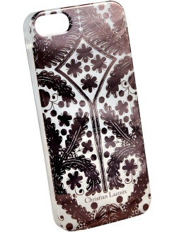 Чехол Lacroix для iPhone 5S/SE Paseo transparent Hard Rose gold Christian Lacroix
