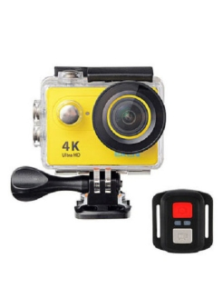 Экшн камера EKEN H9R YELLOW Ultra HD 4K 25 fps Артикул:H9R YELLOW, шт, EKEN