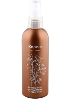 Кондиционер-реструктурант с кератином Magic Keratin Kapous.